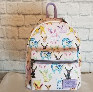 Loungefly Pokemon Eevee Eeveelutions Mini Backpack